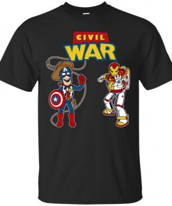 Civil Toy War Toy Story Civil War Captain and Ironman Classic T-Shirt amazon best seller