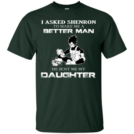Asked Shenron To Make Me Better Man He Sent Me Daughter Vegeta and Pulma Classic T-Shirt