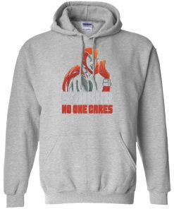 Deadpool No One Care Hoodie