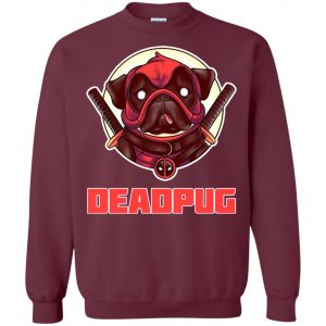 Deadpug Deadpool Pug Sweatshirt