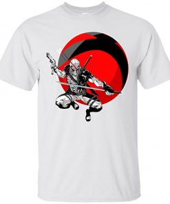 Deadpool Gun And Sword Classic T-Shirt