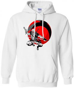 Deadpool Gun And Sword Hoodie