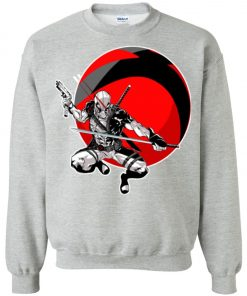 Deadpool Gun And Sword Sweatshirt Amazon Best Seller