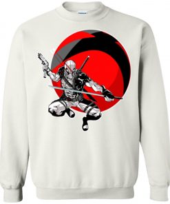 Deadpool Gun And Sword Sweatshirt