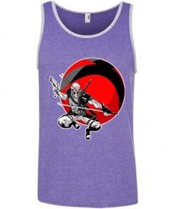 Deadpool Gun And Sword Tank Top