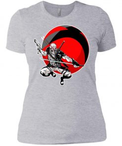 Deadpool Gun And Sword Women's T-Shirt