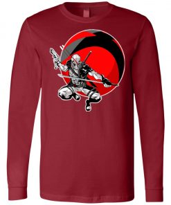 Deadpool Gun And Sword Long Sleeve