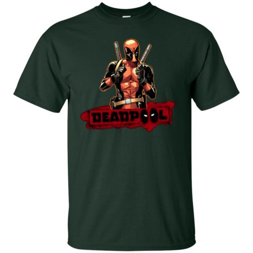 Deadpool Cool Guy Classic T-Shirt