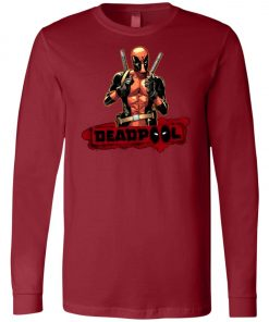 Deadpool Cool Guy Long Sleeve