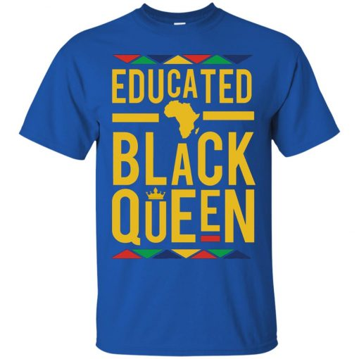 Educated Black Queen Classic T-Shirt