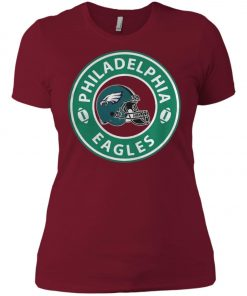 Starbucks Coffee Philadelphia Eagles Women's T-Shirt