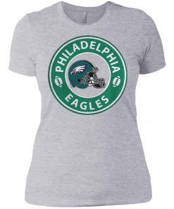 Starbucks Coffee Philadelphia Eagles Women's T-Shirt Amazon Best Seller