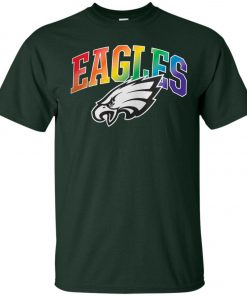 Philadelphia Eagles Rainbow Classic T-Shirt