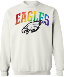 Philadelphia Eagles Rainbow Sweatshirt