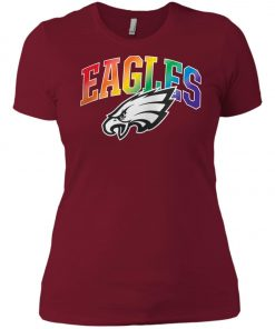 Philadelphia Eagles Rainbow Tank Top