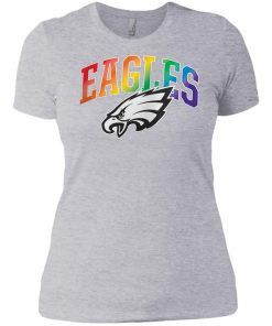 Philadelphia Eagles Rainbow Women's T-Shirt