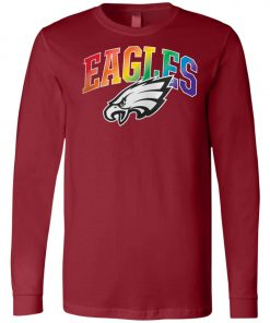 Philadelphia Eagles Rainbow Long Sleeve