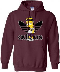 Adidas Bart Simpson With Adidas Yeezy Hoodie