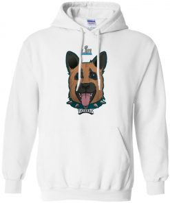 Philadelphia Eagles Dog Hoodie