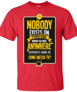 Nobody Exists On Purpose Rick And Morty Classic T-Shirt
