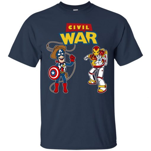 Civil Toy War Toy Story Civil War Captain and Ironman Classic T-Shirt