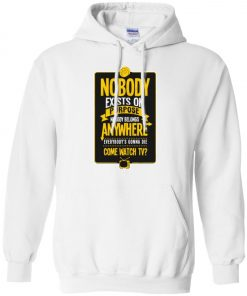 Nobody Exists On Purpose Rick And Morty Hoodie