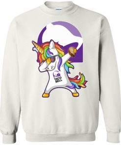 Unicorn Dabbing With Taco Bell Sweatshirt