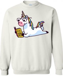 Unicorn Believe in Yourself Magically Fabulous II Sweatshirt