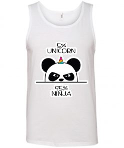 Unicorn Ninja Panda Tank Top