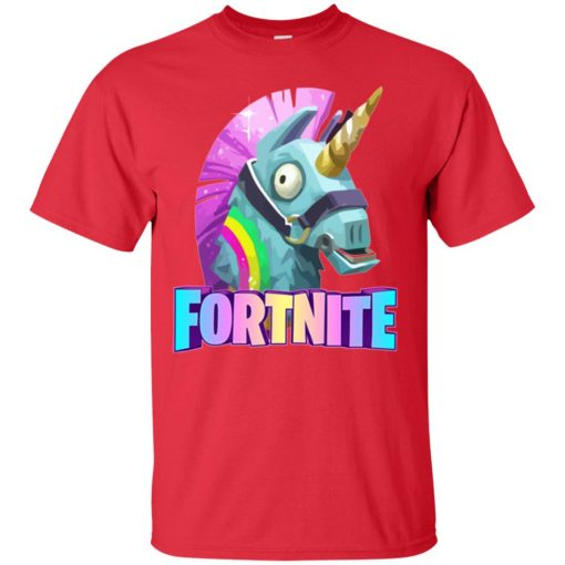 Fortnite Battle Royale Unicorn Rainbow Classic T-Shirt