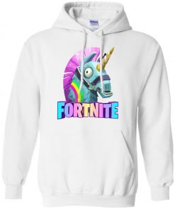 Fortnite Battle Royale Unicorn Rainbow Hoodie
