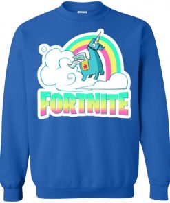 Fortnite Battle Royale Unicorn Rainbow Sweatshirt