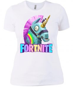 Fortnite Battle Royale Unicorn Women's T-Shirt