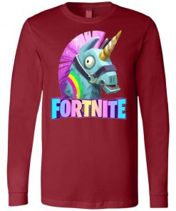 Fortnite Battle Royale Unicorn Rainbow Long Sleeve