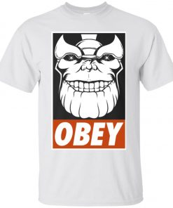 Thanos Obey Smile Classic T-Shirt