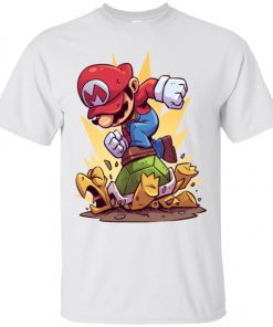 Super Mario Jumping Turtle Funny Classic T-Shirt