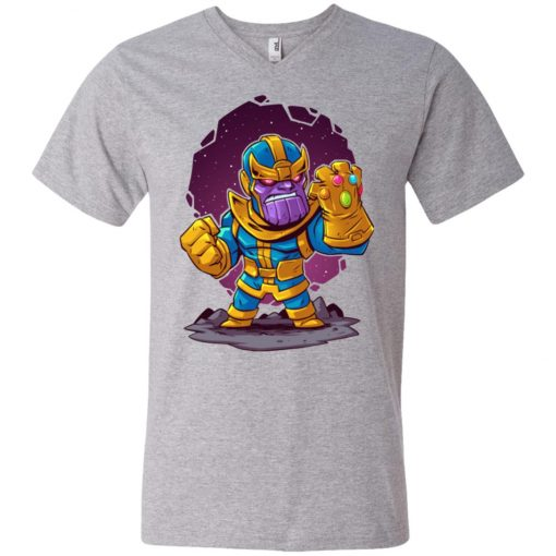 Thanos Infinity Gauntlet V-Neck T-Shirt