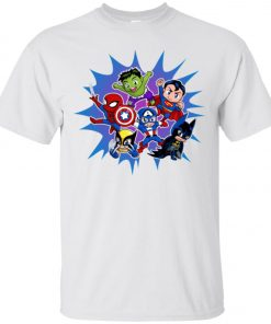 Chibi Heroes By Real Warner Classic T-Shirt