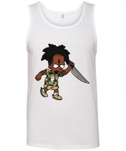 21 Savage Simpson Kill by Knife Tank Top