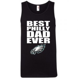 Best Philly Dad Ever Philadelphia Eagles Fandom Father's Day Gift Tank Top amazon best seller
