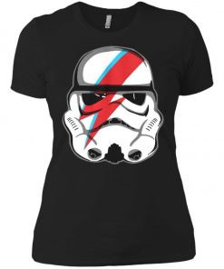 Star Wars Stormtrooper Bowie Women's T-Shirt Amazon Best Seller
