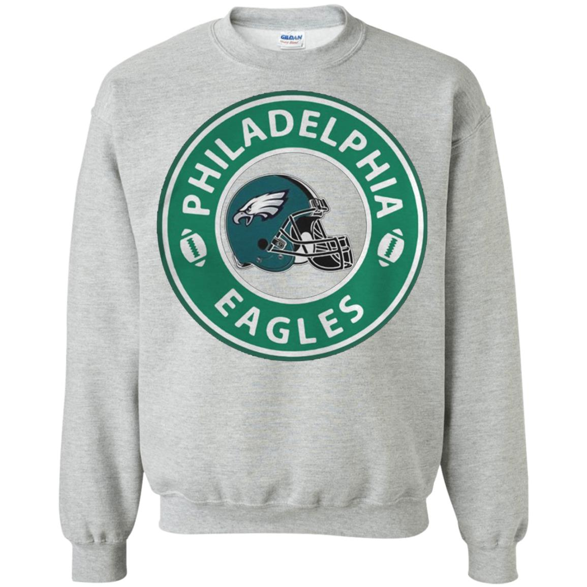 Starbucks Coffee Philadelphia Eagles Sweatshirt Amazon Best Seller` 32c2e58af