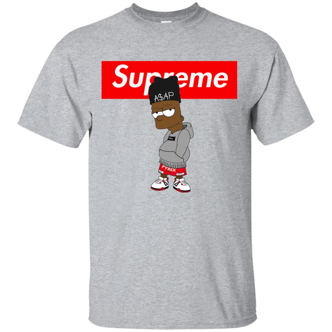 Supreme Bart Simpson ASAP Rocky Classic T-Shirt - Shop Supreme X