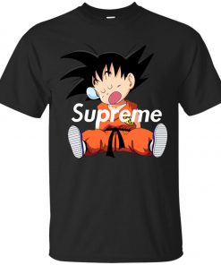 Supreme DBZ Goku Napping Classic T-Shirt Amazon Best Seller