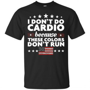 4th of July I Don't Do Cardio Classic T-Shirt amazon best seller