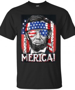4th of July Lincoln Merica Classic T-Shirt amazon best seller