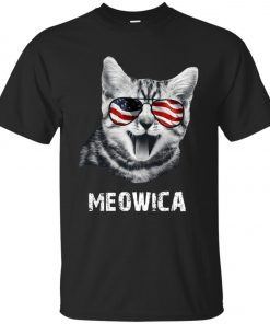 4th of July Meowica Classic T-Shirt amazon best seller