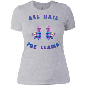 Fortnite All Hall The Llama Women's T-Shirt amazon best seller