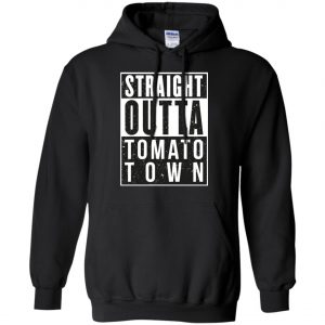 Fortnite Battle Royale - Straight Outta Tomato Town Hoodie amazon best seller