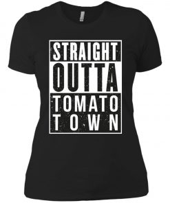 Fortnite Battle Royale - Straight Outta Tomato Town Women's T-Shirt amazon best seller